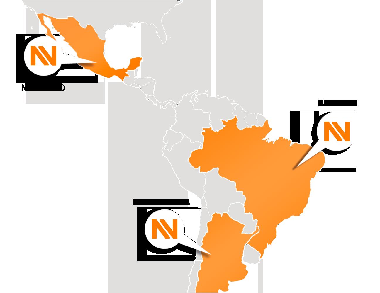 Mapa - Onde Estamos